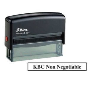 Shiny S-831 Printer line self inking stamp